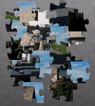 Hollókő puzzle