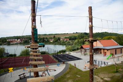 Cserhát túrázás Bánki tó kalandpark