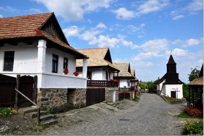 Hollókői házak